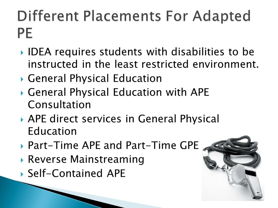 Different Placements For Adapted PE