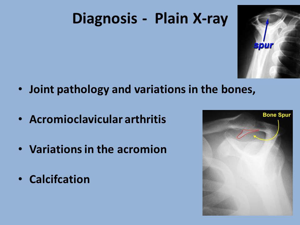 Diagnosis - Plain X-ray