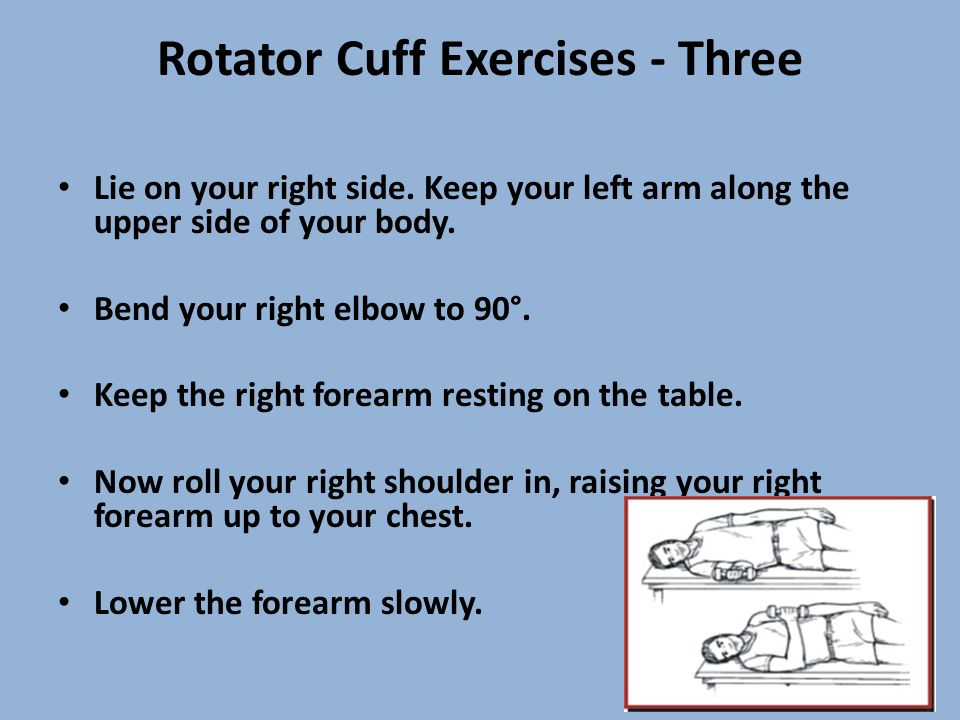 Rotator Cuff Exercises - Three
