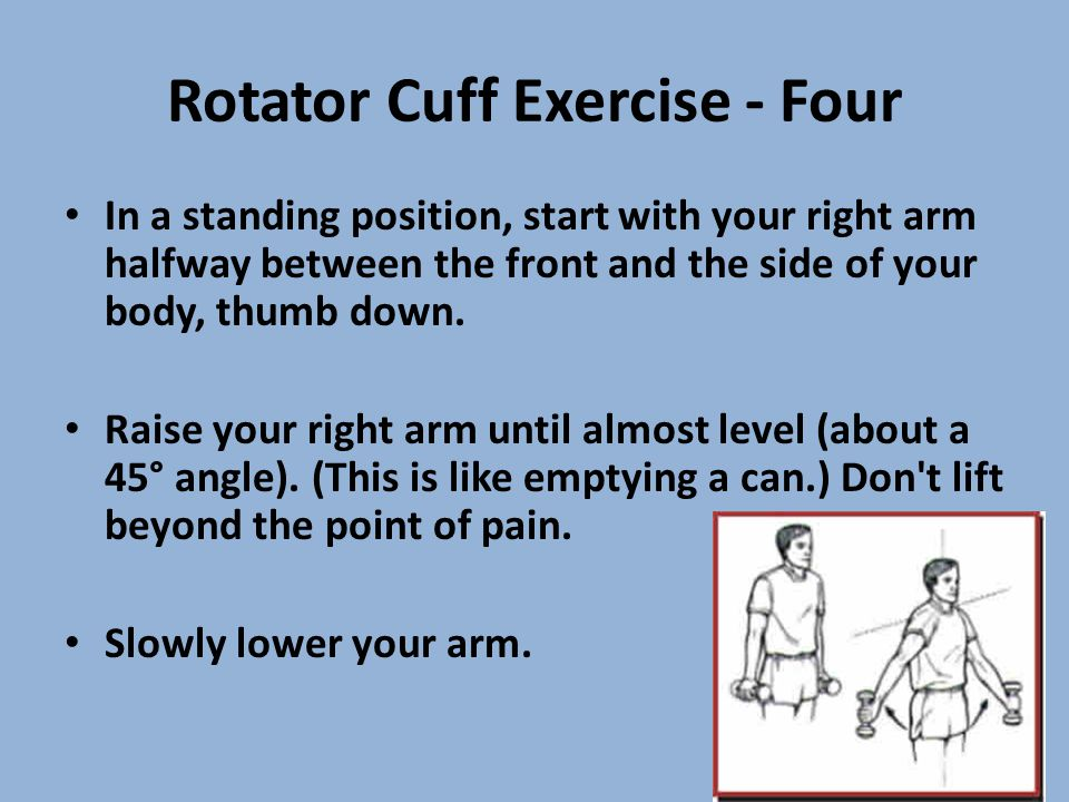 Rotator Cuff Exercise - Four