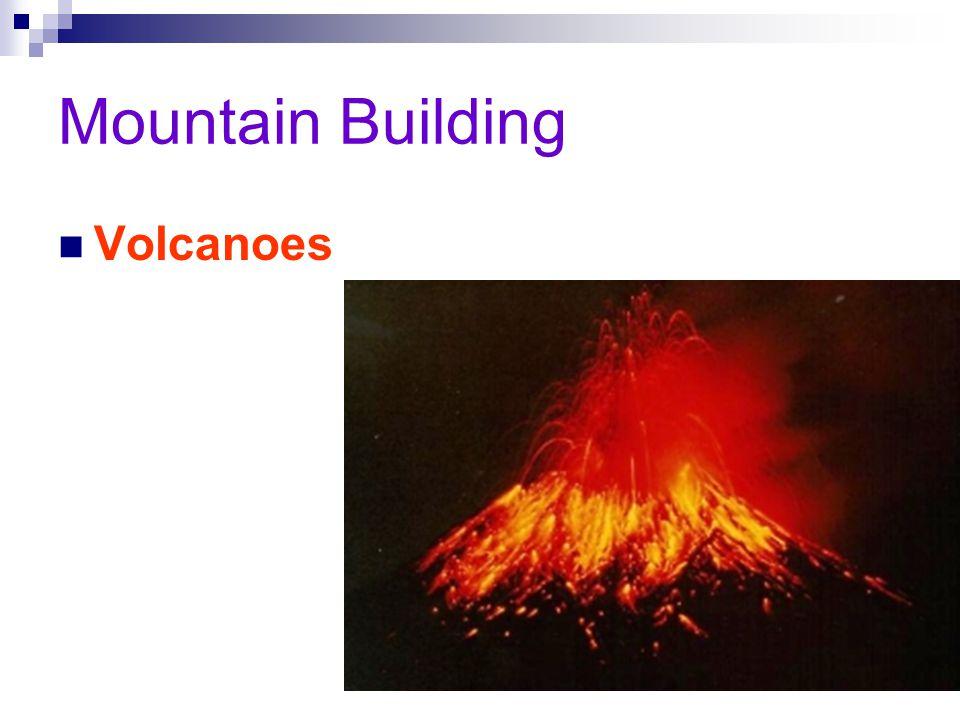 Mountain Building Volcanoes
