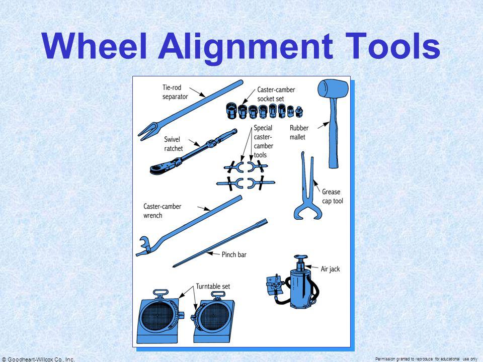 Wheel Alignment Tools