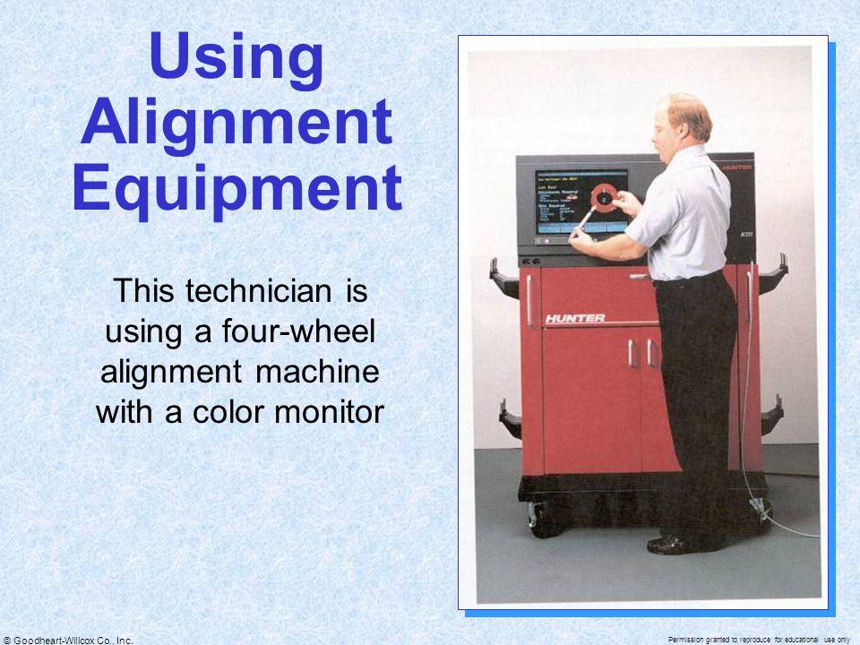 Using Alignment Equipment