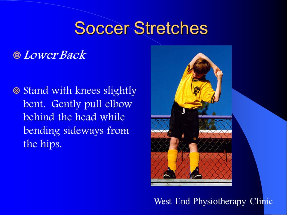 Soccer Stretches Lower Back