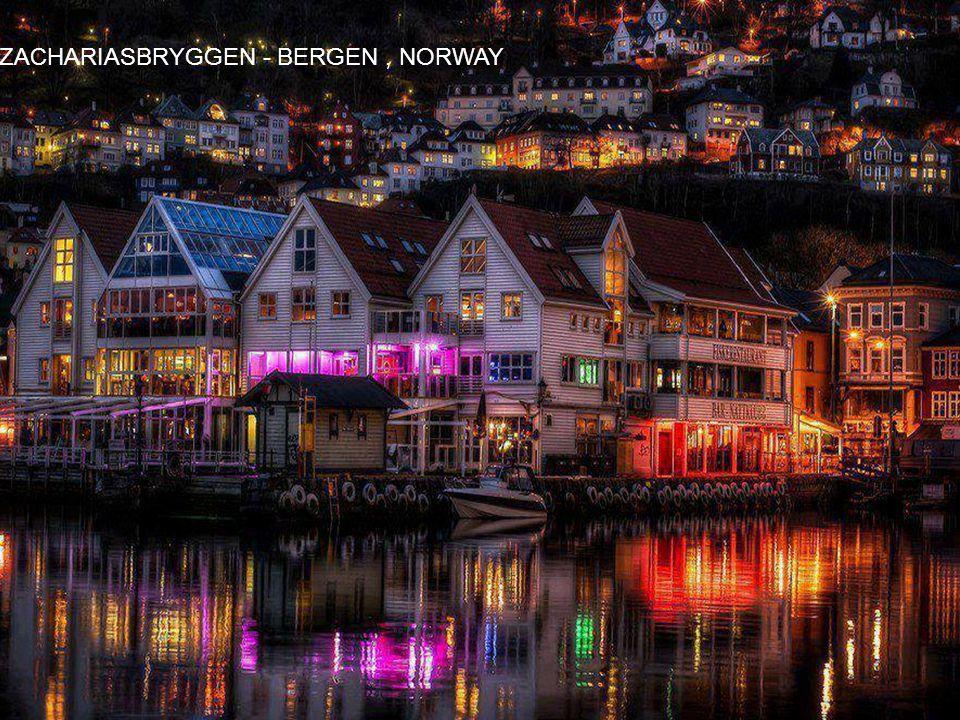 ZACHARIASBRYGGEN - BERGEN , NORWAY