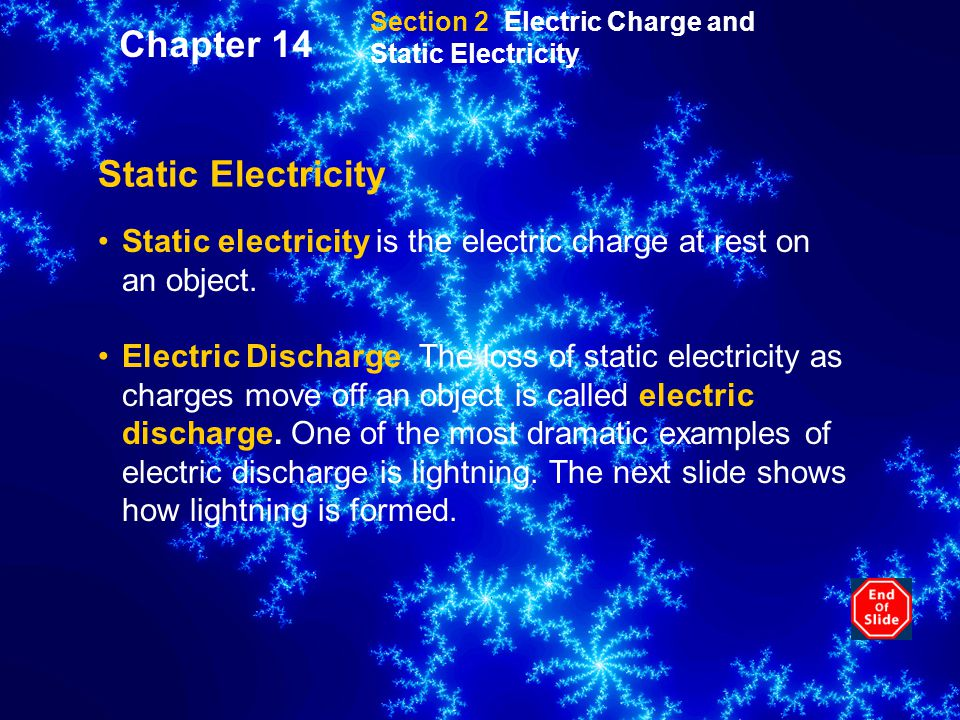 Chapter 14 Static Electricity