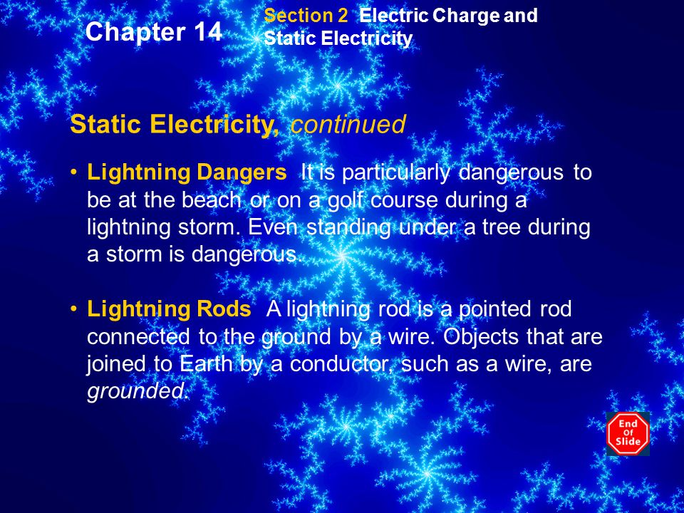 Static Electricity, continued