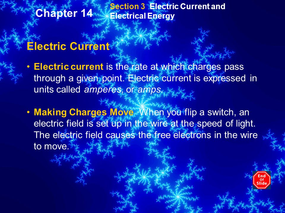 Chapter 14 Electric Current