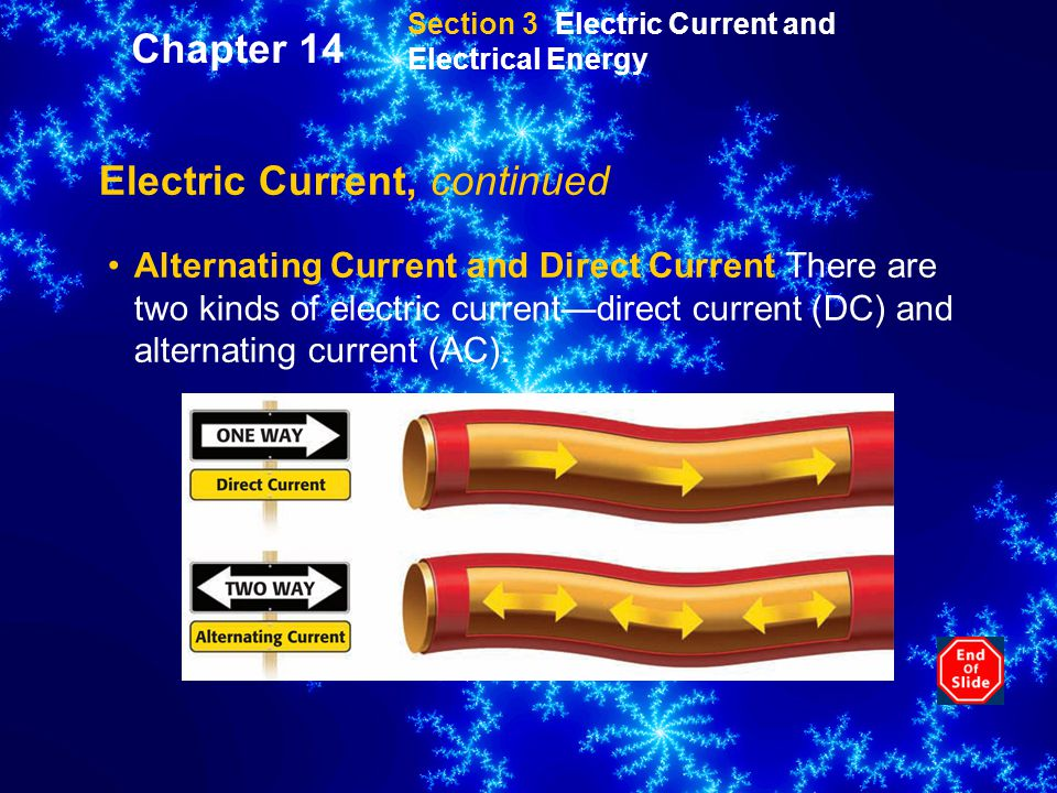 Electric Current, continued