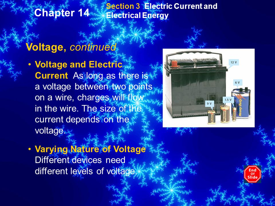 Chapter 14 Voltage, continued