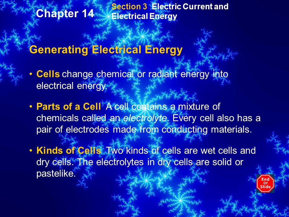 Generating Electrical Energy