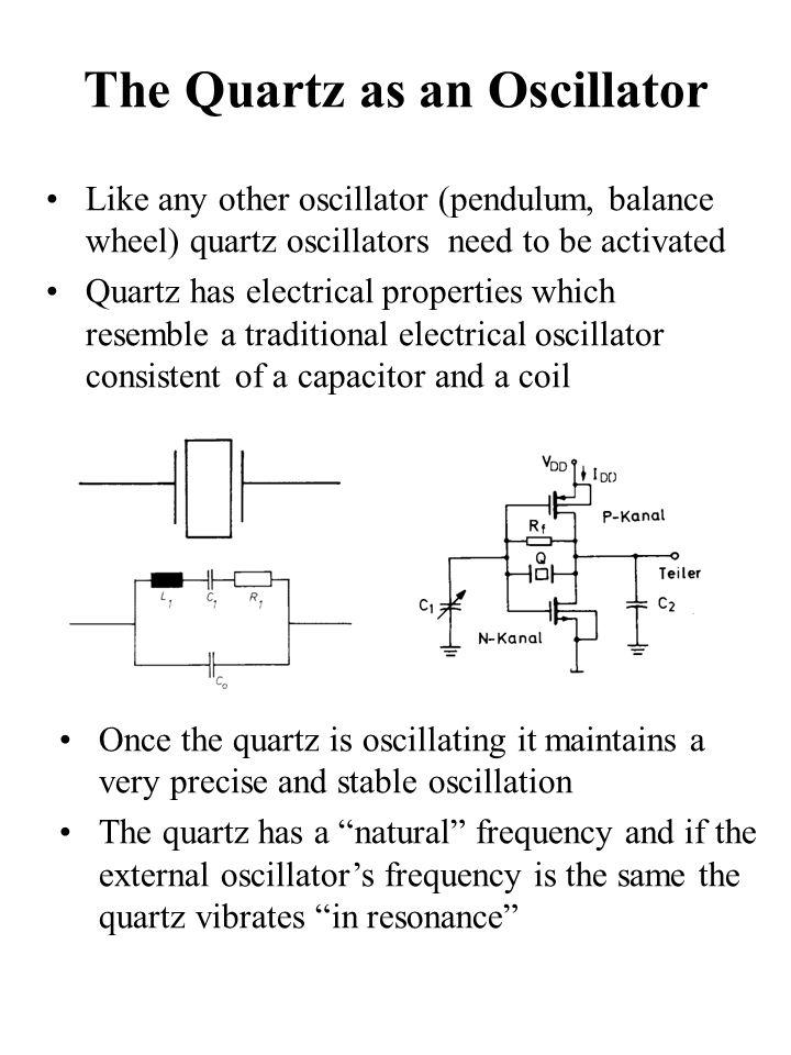 The Quartz as an Oscillator