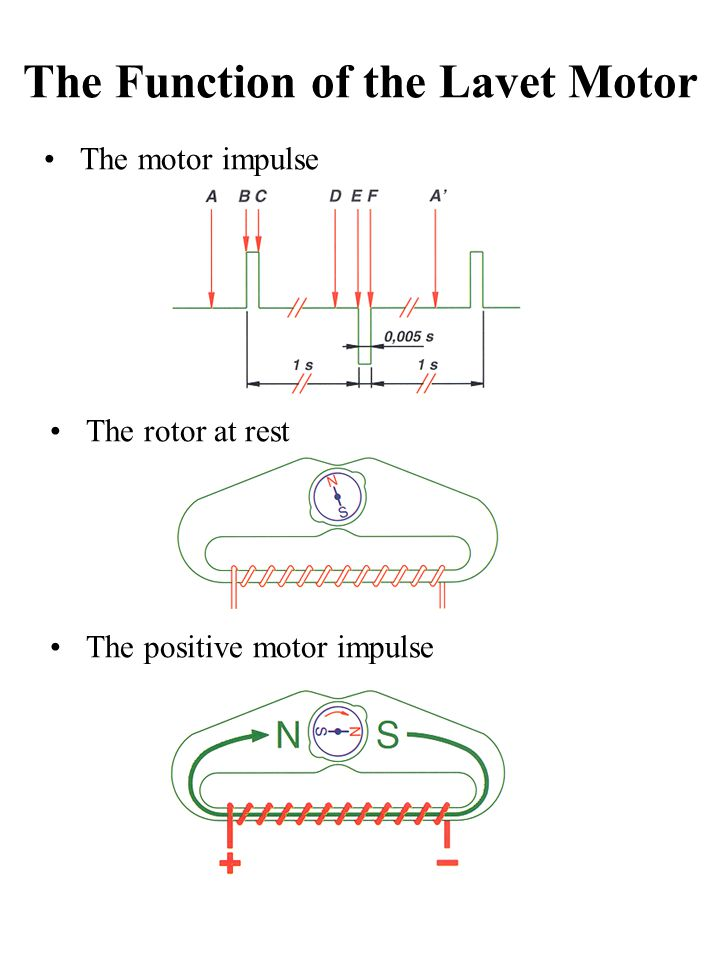 The Function of the Lavet Motor