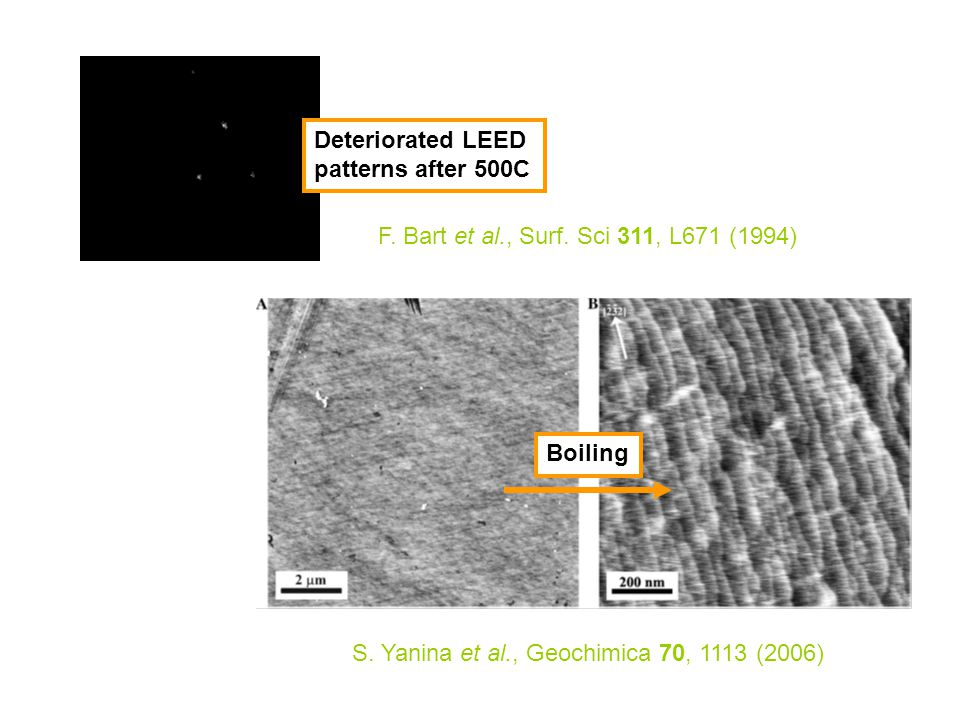 S. Yanina et al., Geochimica 70, 1113 (2006)