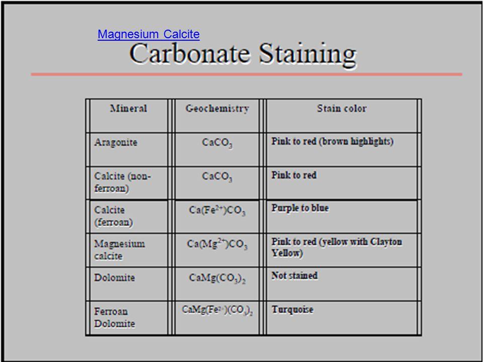 Magnesium Calcite