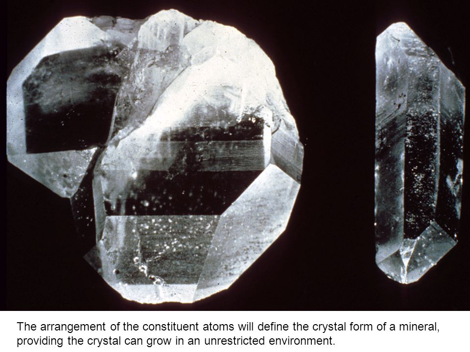 Six-sided, pyramidal Quartz Crystals. - ppt video online download