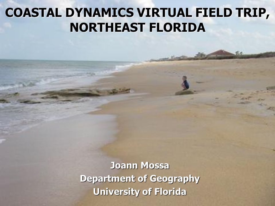 COASTAL DYNAMICS VIRTUAL FIELD TRIP, NORTHEAST FLORIDA