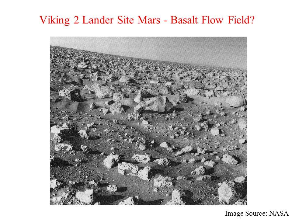 Viking 2 Lander Site Mars - Basalt Flow Field