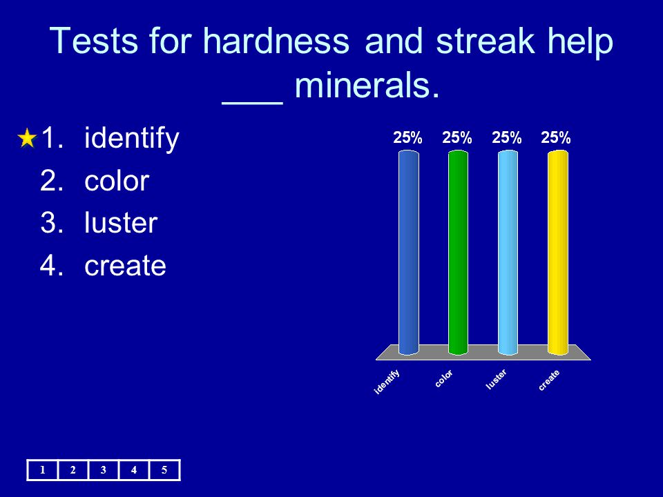 Tests for hardness and streak help ___ minerals.