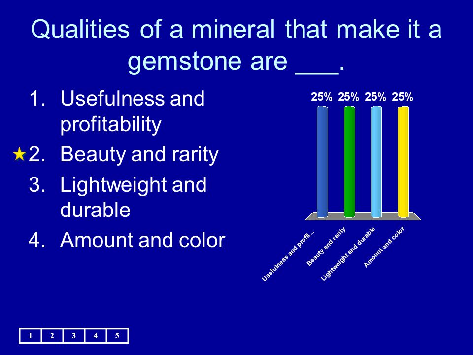 Qualities of a mineral that make it a gemstone are ___.