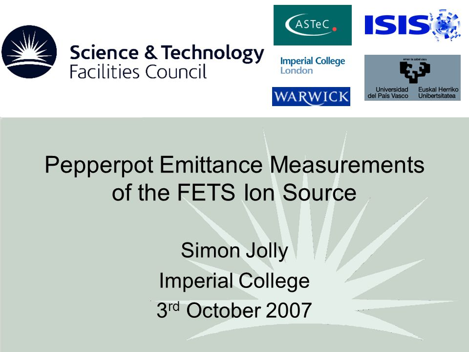 Pepperpot Emittance Measurements of the FETS Ion Source