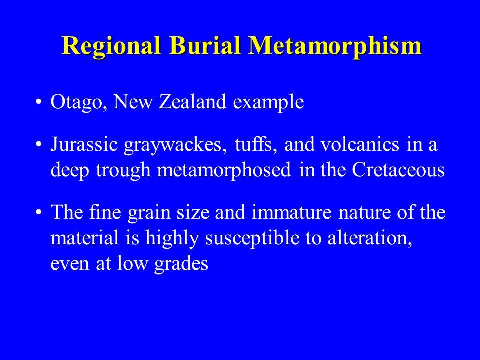Regional Burial Metamorphism