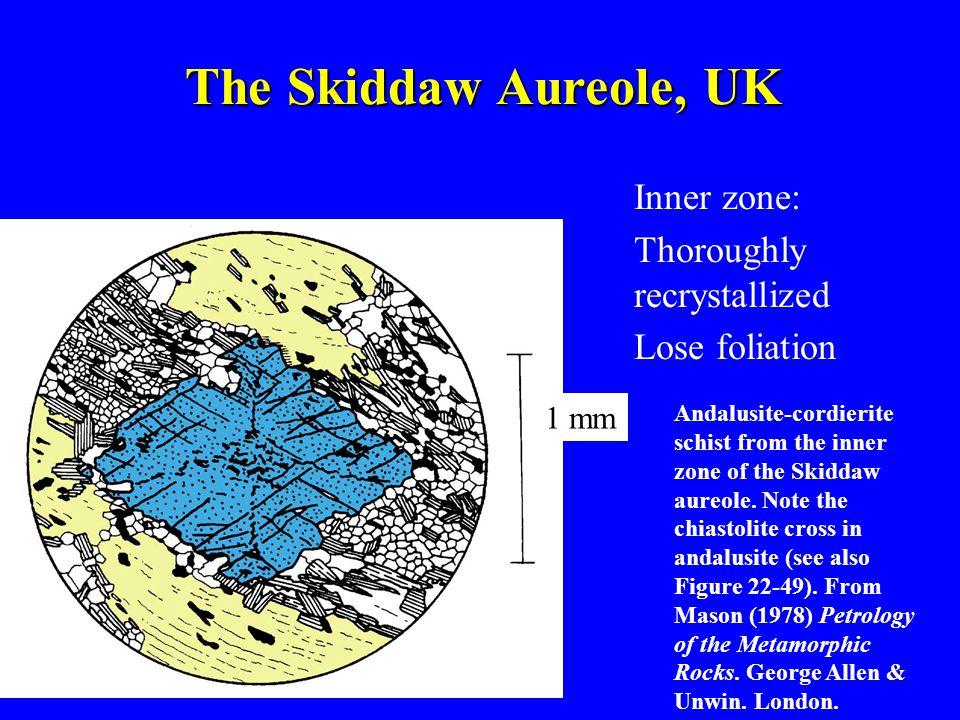 The Skiddaw Aureole, UK Inner zone: Thoroughly recrystallized