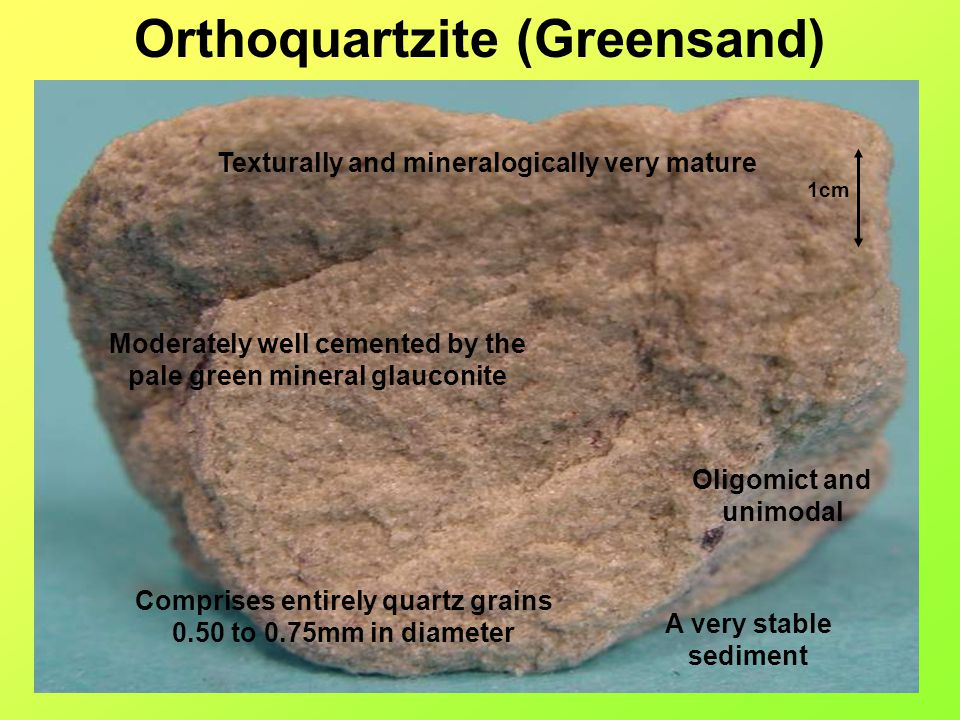 Orthoquartzite (Greensand)