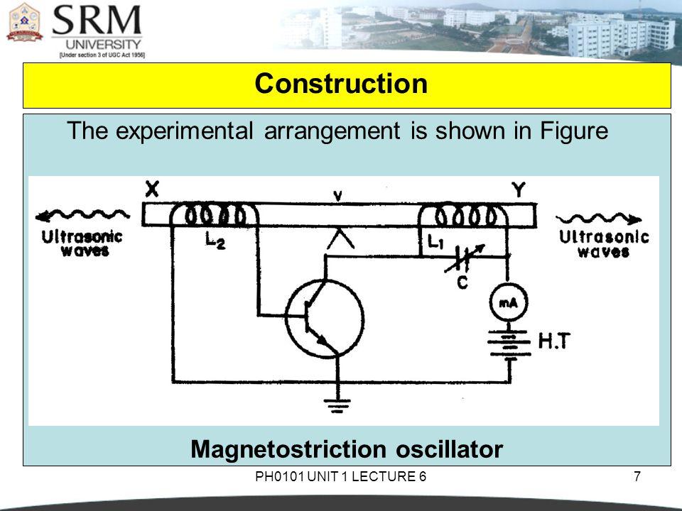 Magnetostriction oscillator