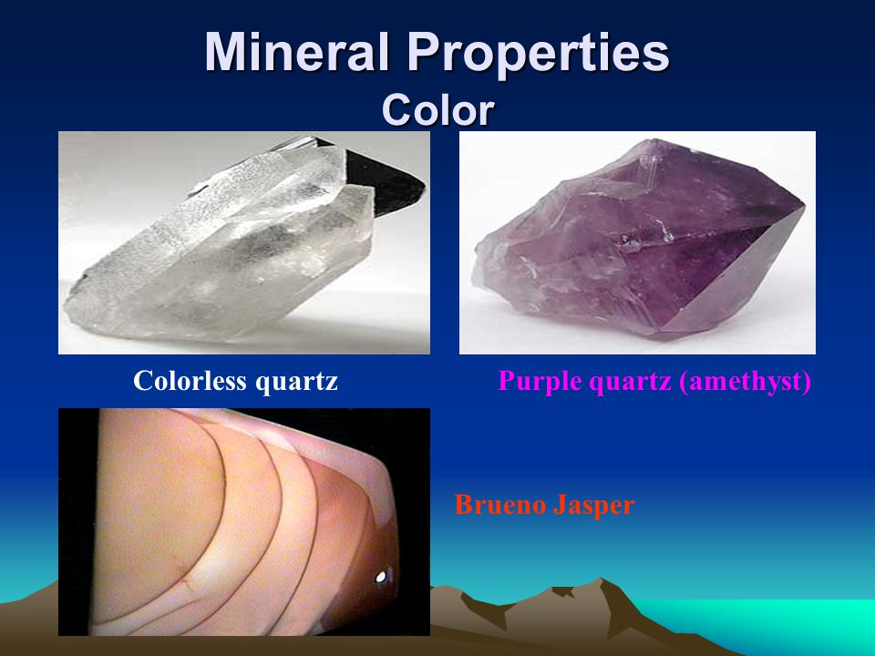 Mineral Properties Color