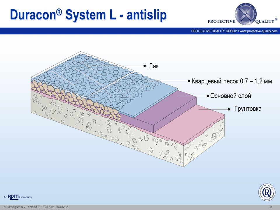 Duracon® System L - antislip