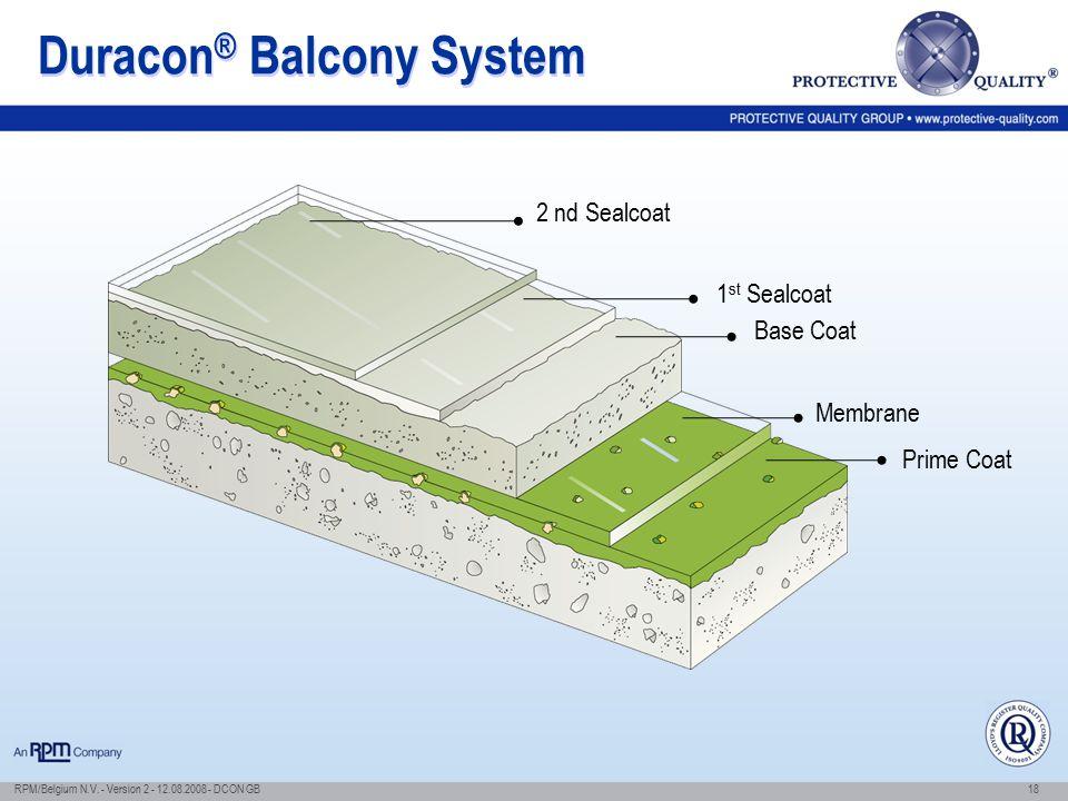 Duracon® Balcony System