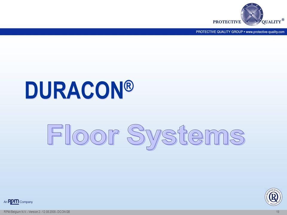 DURACON® Floor Systems