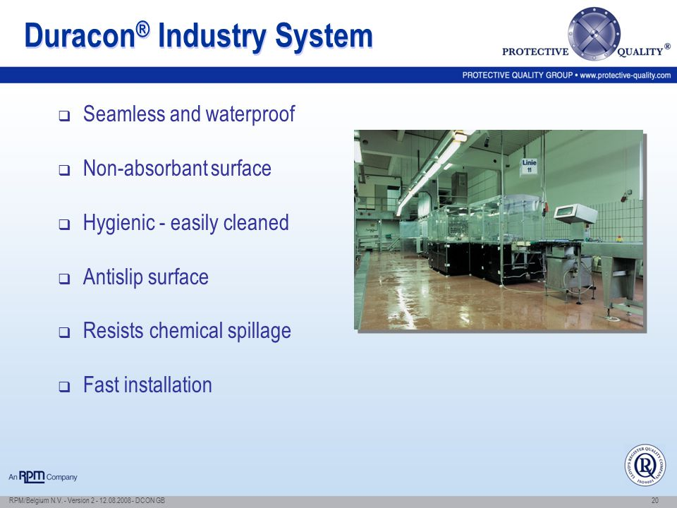 Duracon® Industry System