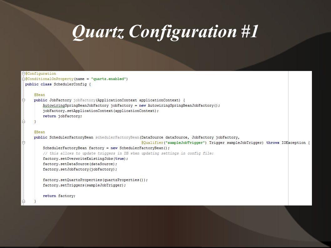 Quartz Configuration #1