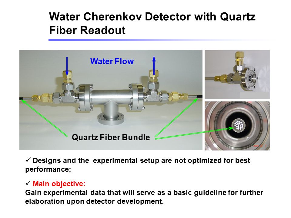 Water Cherenkov Detector with Quartz Fiber Readout