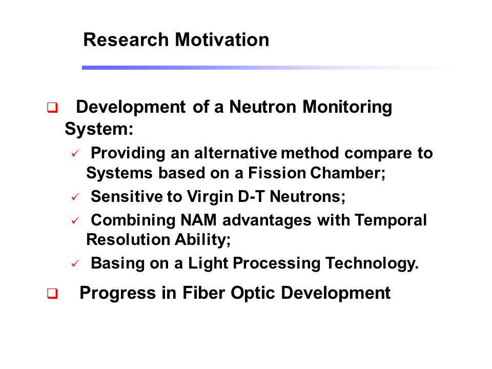 Development of a Neutron Monitoring System: