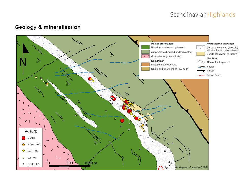 Geology & mineralisation