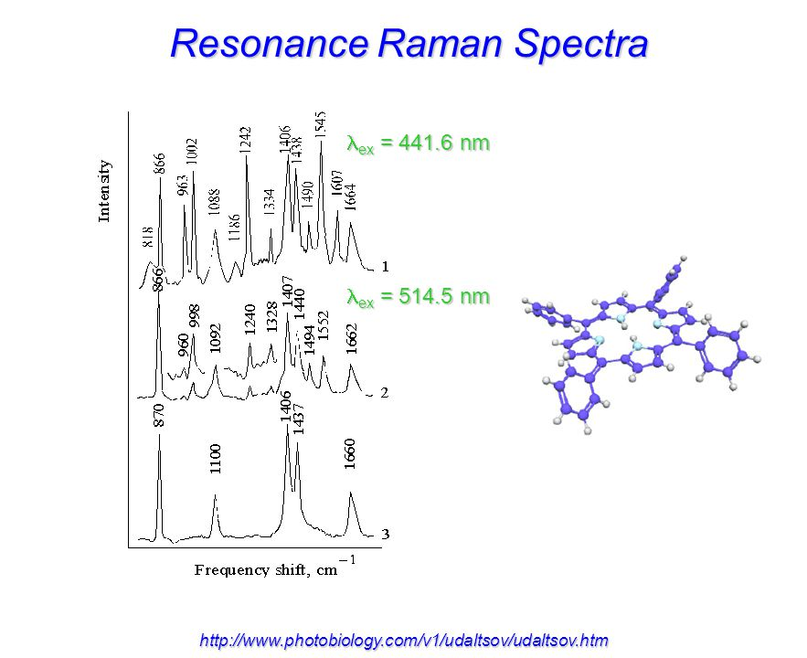 Resonance Raman Spectra