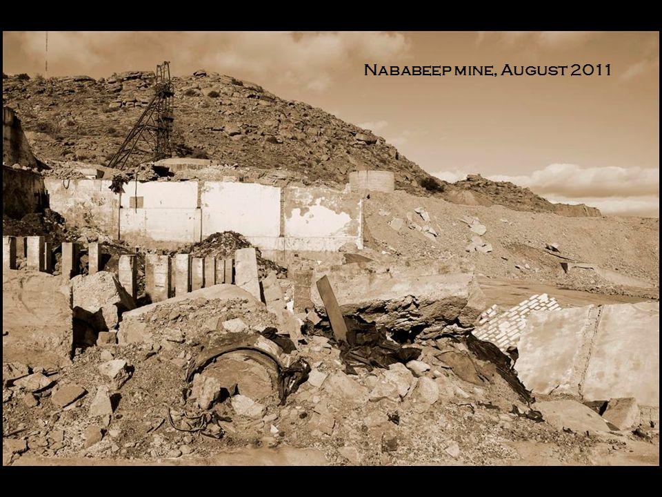 Nababeep mine, August 2011