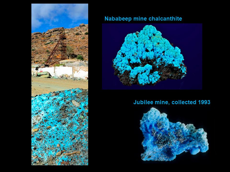 Nababeep mine chalcanthite