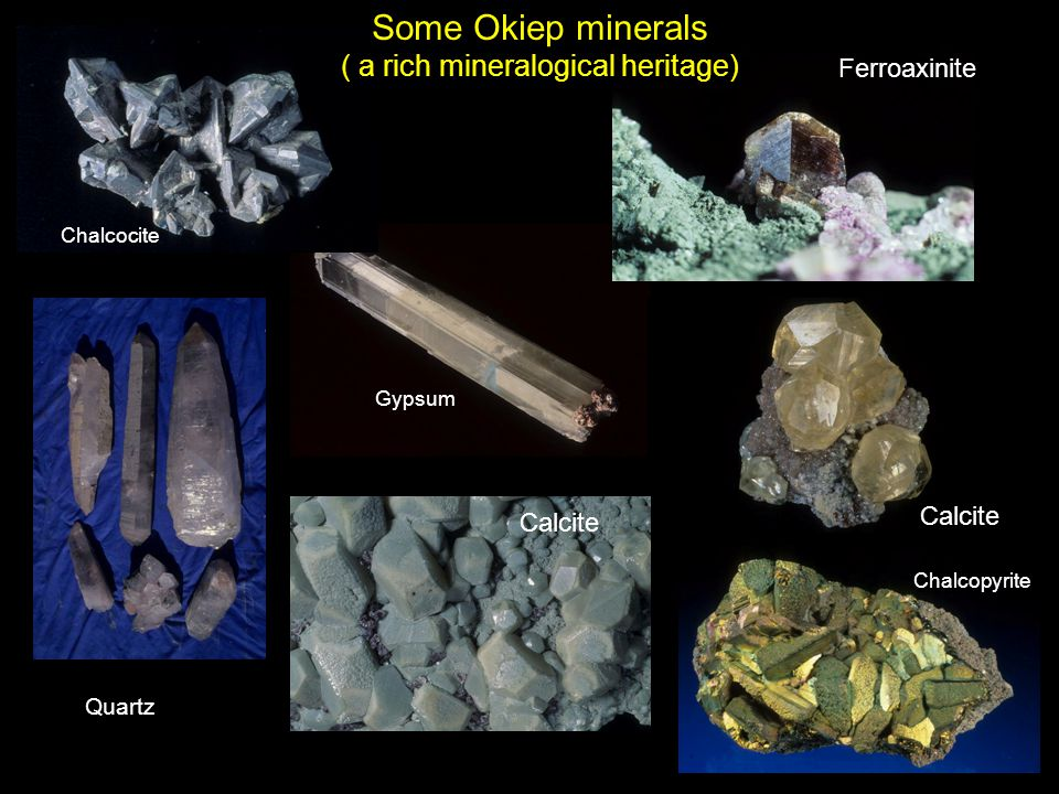( a rich mineralogical heritage)