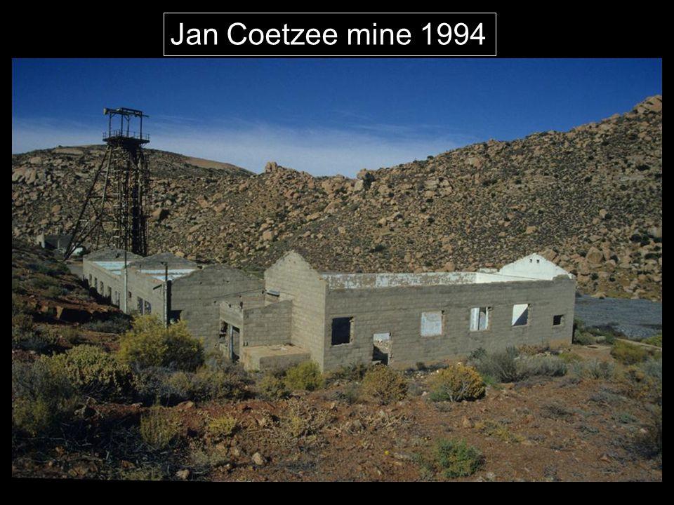 Jan Coetzee mine 1994