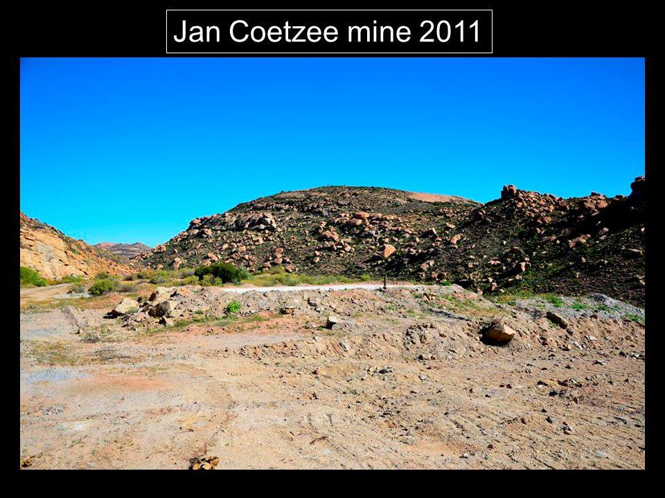 Jan Coetzee mine 2011