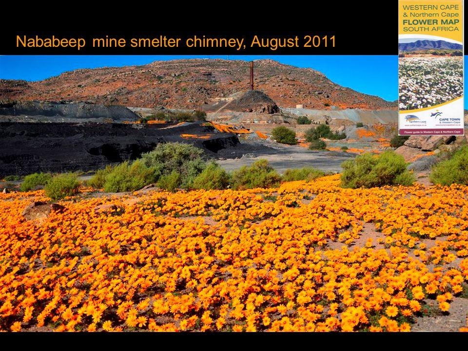 Nababeep mine smelter chimney, August 2011