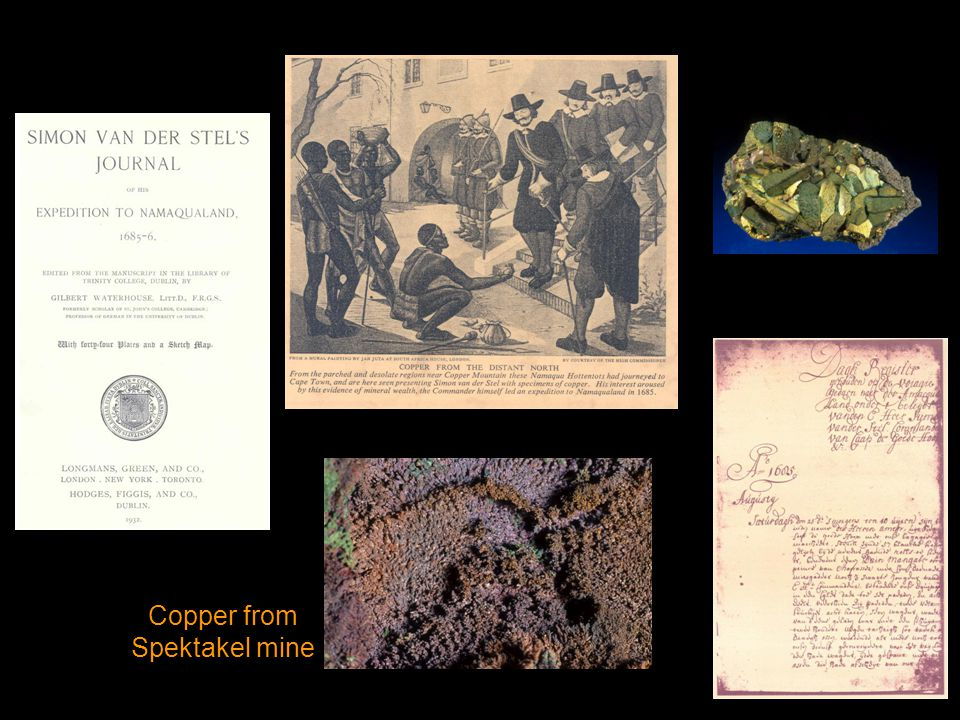 Copper from Spektakel mine