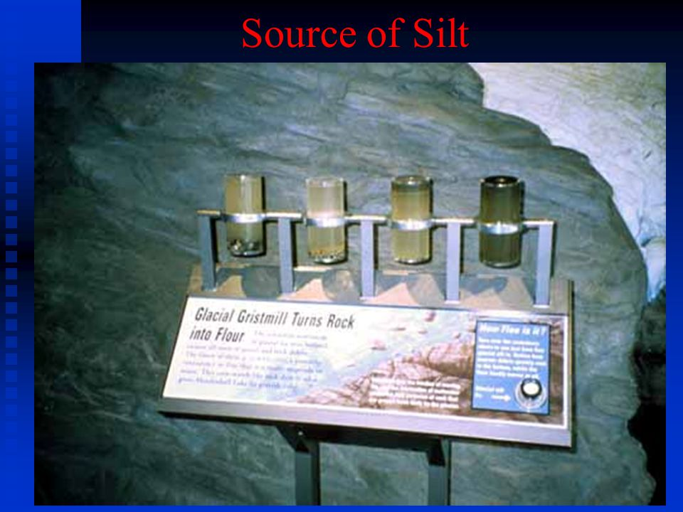 Source of Silt