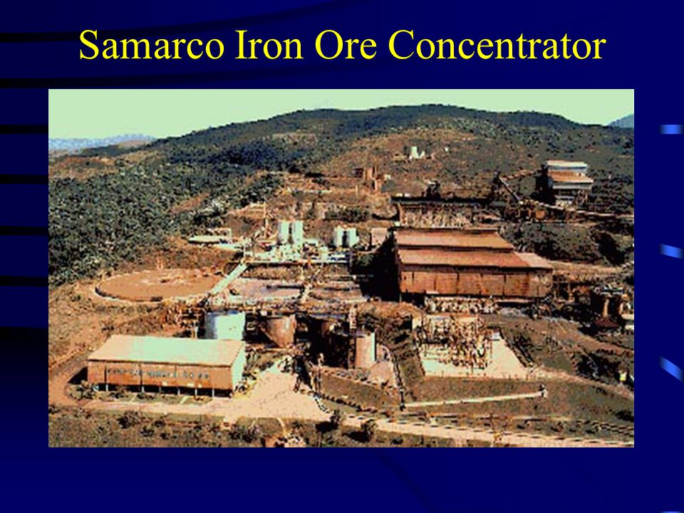 Samarco Iron Ore Concentrator
