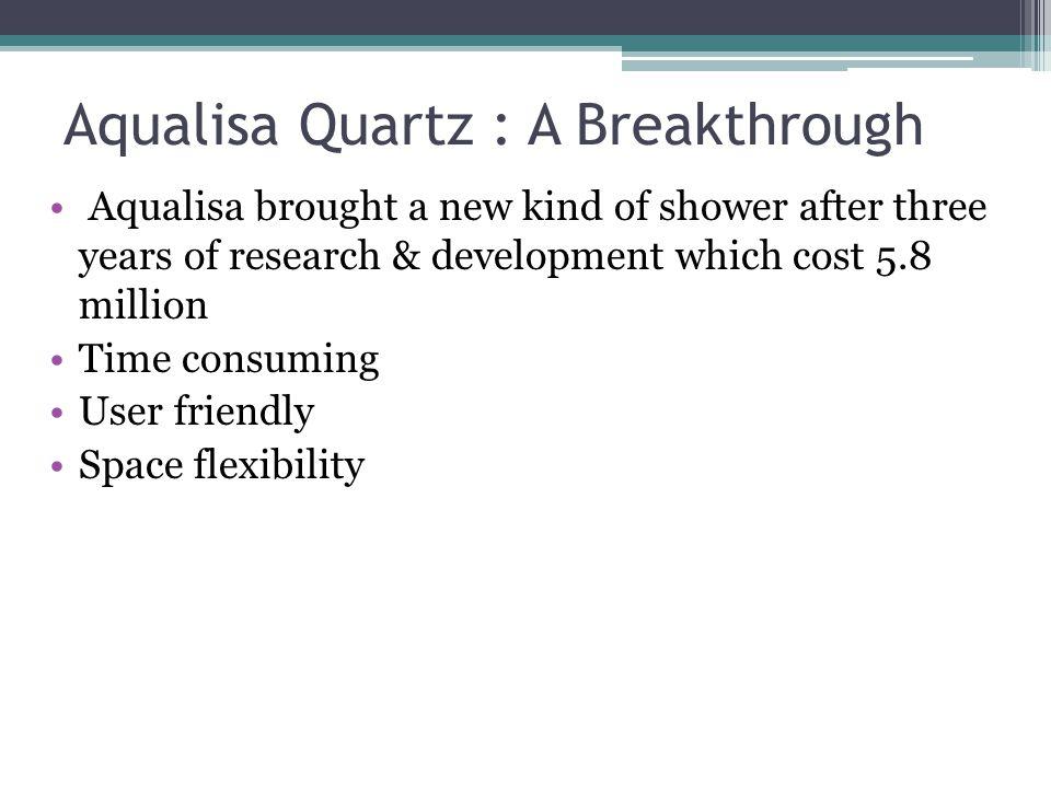 Aqualisa Quartz : A Breakthrough