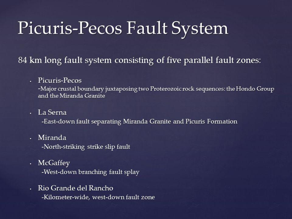 Picuris-Pecos Fault System